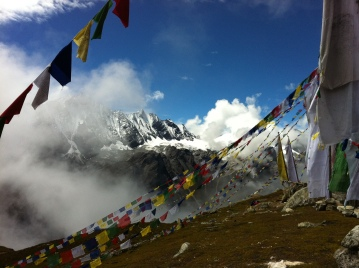 cumbre Tsergo Ri, Nepal
