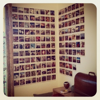el muro fotografico