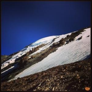 glaciar del plomo
