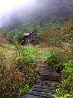 la casita en la pradera