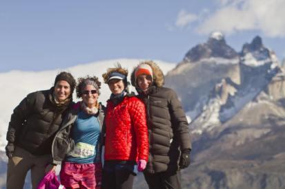 ad portas de los 21 K en Patagonia, nada mejor que compartir estos momentos con buena compañía!