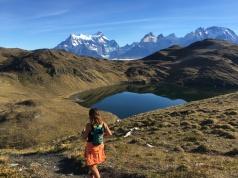 en uno de los viajes de Runology en Torres del Paine