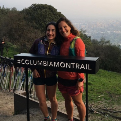 con una de las mas grandes del trailrunning chileno: Katherine Cañete