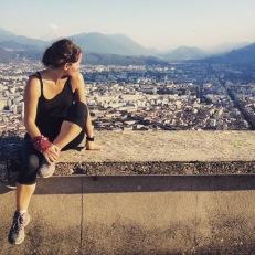 Grenoble 2010, cuando aún mayormente corría por calles y 21K me eran una maratón