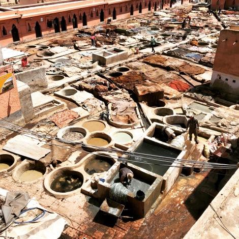 Curtidumbres de Marrakesh